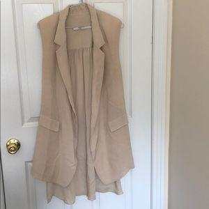 Cynthia Vincent long blazer vest